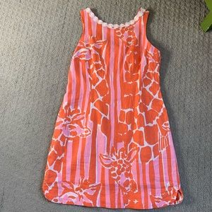 Lilly linen blend dress NWT
